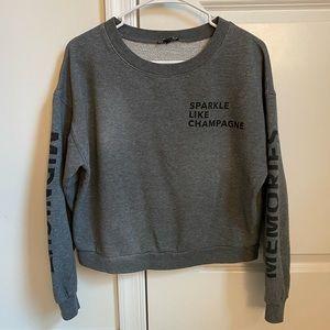 "Express ""Sparkle Like Champagne"" Sweatshirt"